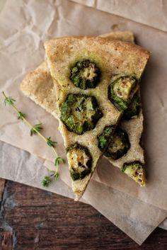 - VANIGLIA - storie di cucina: torta salata con farro integrale, limone, timo, formaggio fresco e zucchine saltate
