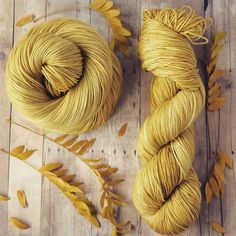 It's fall y'all! . Time to make some fall socks?  Knit some up with this sparkly hand dyed sock yarn!