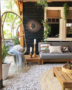 Below are the Boho Chic Home Decor Plans And Ideas. This post about Boho Chic Home Decor Plans And Ideas … Outdoor Rooms, Outdoor Living, Outdoor Decor, Design Patio, House Design, Home Interior Design, Interior Decorating, Balkon Design, Estilo Boho
