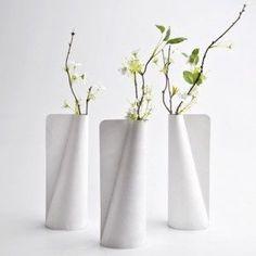 Tyvek Vase by Jiwon Choi