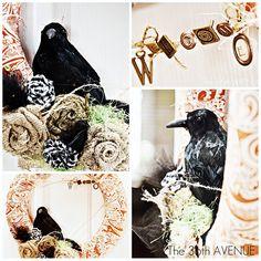 Halloween Wreath Tutorial | The 36th AVENUE