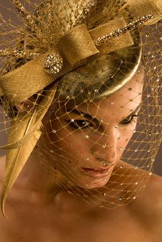I love hats with netting  If you get into the vintage ones be prepared to replace the netting..