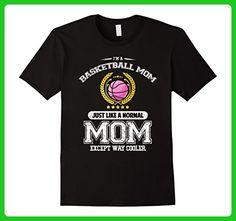 Mens Cool Basketball Mom! Funny Basketball Lover T-Shirt Large Black - Sports shirts (*Amazon Partner-Link)