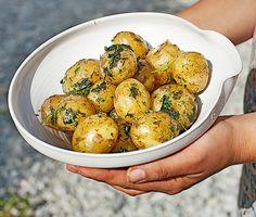 New Potatoes with Fresh Herbs Recipe