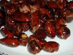 Ořechy v karamelu Sprouts, Sausage, Beans, Food And Drink, Vegetables, Fit, Sausages, Veggies, Vegetable Recipes