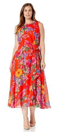 9 plus size floral dresses for formal events Plus Size Dress Outfits, Curvy Outfits, Dresses For Work, Dresses For Formal Events, 9 Plus, Curvy Dress, Feminine Dress, Floral Dresses, Stylish Dresses