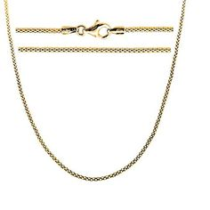 Gold Plated Sterling Silver Popcorn Chain Necklace Italian 24 inch >>> To view further for this item, visit the image link.(This is an Amazon affiliate link)