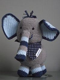 crochet..... It's an elephant! LOVE IT! So cute! :)