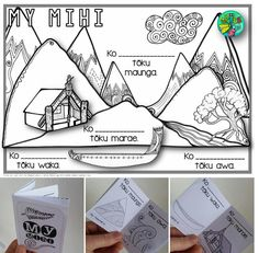 FREE Mihi/Pepeha template {1-cut-book} Baby Room Ideas Early Years, Maori Songs, Maori Legends, Waitangi Day, Maori Patterns, Social Studies Curriculum, Maori Art, Youth Activities, Montessori Toddler