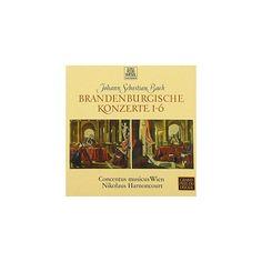 Bach & Nikolaus Harnoncourt - J.S. Bach: Brandenburg Concertos (CD)
