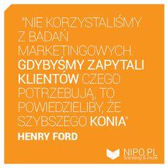 Henry Ford o reklamie - cytat