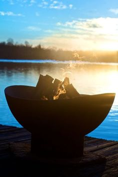 Tidal Fire Pit. From taiga finds.com