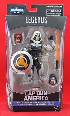 Marvel Legends Taskmaster Figure Captain America BAF Red Skull Free Shipping New #Hasbro