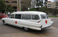 DONT LET YOUR FIRST RIDE IN A CADILLAC BE YOUR LAST!!  Todd Harris Cadillac Ambulance