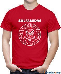 Camiseta de los Solfamidas inspirada en la serie de Los Simpson Los Simpson