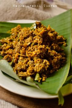 Kakka irachi Thoran | Kerala Clams Stir-fry with Coconut | kurryleaves