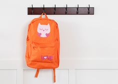 Owl Backpack. Make It Now in Cricut Design Space