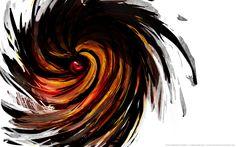 Naruto shippuden sharingan masks swirls tobi uchiha madara wallpaper | 1920x1200 | 10180 | WallpaperUP