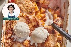 Easy Desserts, Delicious Desserts, Dessert Recipes, Dessert Ideas, Cake Recipes, Cobbler Topping, Cobbler Recipe, Best Peach Cobbler, Apple Cobbler