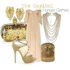 The Capitol - this dress is gorgeous! (Not DB)