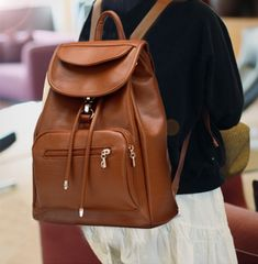 Beaux Leather Backpack | Leather laptop backpack and Laptop backpack
