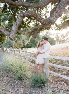 Gorgeous engagement shoot at Los Olivos Ranch: http://www.stylemepretty.com/2016/10/10/los-olivos-ranch-engagement/ Photography: Joel Serrato - http://joelserrato.com/