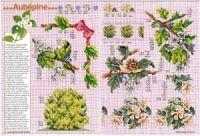 """ru / tymannost - Альбом """"Encyclopedie du point de croix ( Fleurs arbres et feuilles )"""" Le Point, Cross Stitch, Russia, Gallery, Flowers, Leaves, Punto Croce, Crossstitch"""