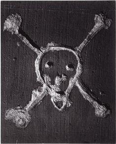 Graffiti De la série : VII La Mort. Vers 1935-1950 Brassaï