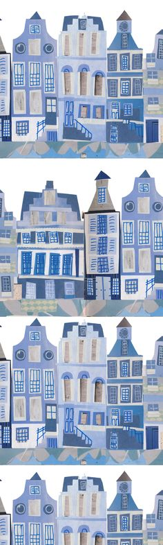 Dutch Houses by Tracey English www.tracey-english.co.uk