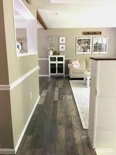 LifeProof Seasoned Wood Multi-Width x in. L Luxury Vinyl Plank Flooring sq. / - The Home Depot Vinyl Tile Flooring, Vinyl Tiles, Wood Vinyl, Diy Flooring, Kitchen Flooring, Flooring Ideas, Vinyl Planks, Flooring Options, Flats