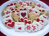 Valentine's Day platter.