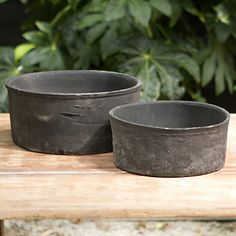 Linen Wrapped Cylinder Bowl in New SHOP Gardening at Terrain