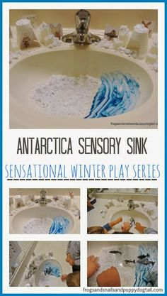 20  Winter Activities Kids LoveSnow Monsters from Blue Raspberry Foam Dough by FSPDTFine Motor Skills Build A Snowman by FSPDTWinter Book List for Children�by FSPDTSnowball Experiments by Sugar Aunts- Oh how I wished we had snow here. �This is such a fun experiment.�Antarctica Sensory Sink�and sensory snow recipe by FSPDT need to stay in, try playing in the sink.�Arctic Snow Dough Small�World by Crayon Box Chronicles- fun and creative play set up foe the kidsS'mores ready in Seconds- with…
