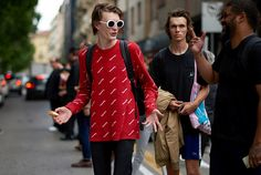 The models of Milan Fashion Week captured by Yu Yang in the streets of Milan, in exclusive for Fucking Young!