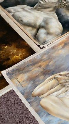 Classical Art, Stretcher Bars, Photo Shoots, Original Paintings, Fine Art, The Originals, Instagram, Home Decor, Decoration Home