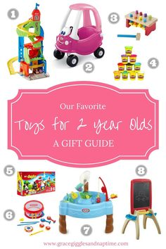 Our Favorite Toys for 2 Year Olds   A Gift Guide for Toddlers