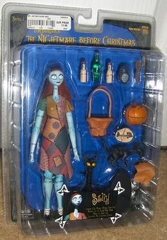 Sally Nightmare Before Christmas Action Figure Cats Jack Series 1 Neca New Toy  $104.99 via greattoys4u