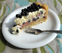 Blueberry charlotte