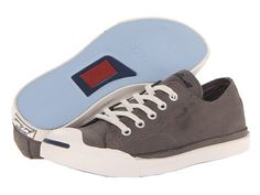 8872872e6585 Converse Jack Purcell® LP Leather Ox Gray - Zappos.com Free Shipping BOTH  Ways