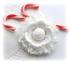 Crochet Winter flower http://www.etsy.com/shop/CraftsbySigita?ref=si_shop