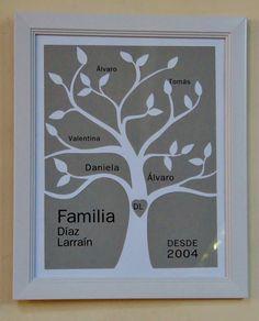 Rbol familiar genealog a pinterest rbol familiar for Habitacion familiar en once