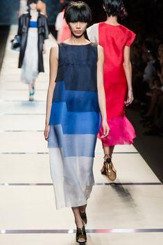 Fendi Spring 2014 Ready-to-Wear Fashion Show - Soo Joo Park