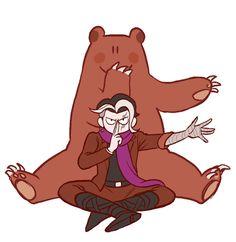 Gundam and his bear