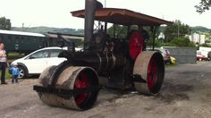 Steam roller  Parný valec