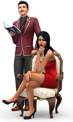 Bella  Mortimer Goth The Sims 4- So glad thry are keeping these guys in!