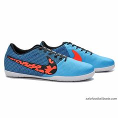 outlet store b6eb9 a05a0 2015 Nike Elastico Pro III T5 IC Blue Orange Black  61.99