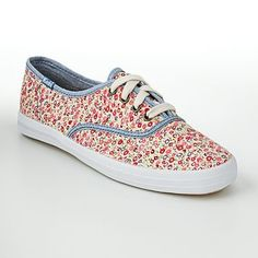 Floral Keds. I want a pair of Keds, they are so cute! <3