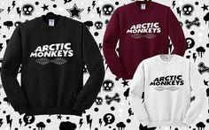 Arctic Monkeys Sweatshirt Women or Men Sweater by Podoteko on Etsy