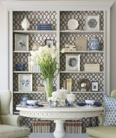 Bring wallpaper to life with these Pinterest FAB 4 Wallpaper finds: I am always having fun browsing through the thousands of different Pinterest images, but especially liked these Pinterest Wallpaper ideas. Check out 4 creative ideas to turn any boring room into a simply fabulous one!