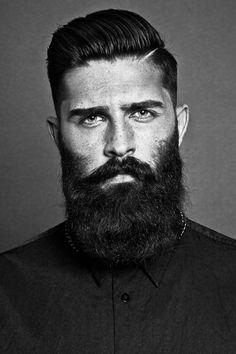 Beard Chris John Millington by Danny Baldwin Sapphires Model Management London